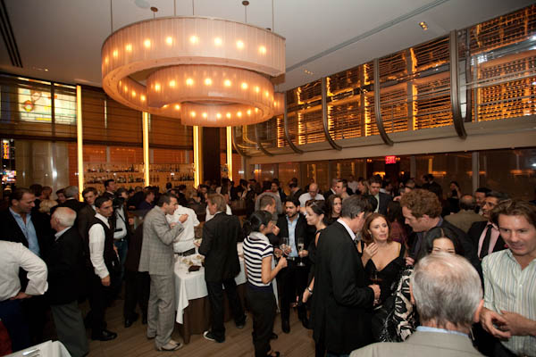 2010 International Chefs Congress Welcome Reception at Aureole -