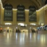 No trains running at Grand Central.