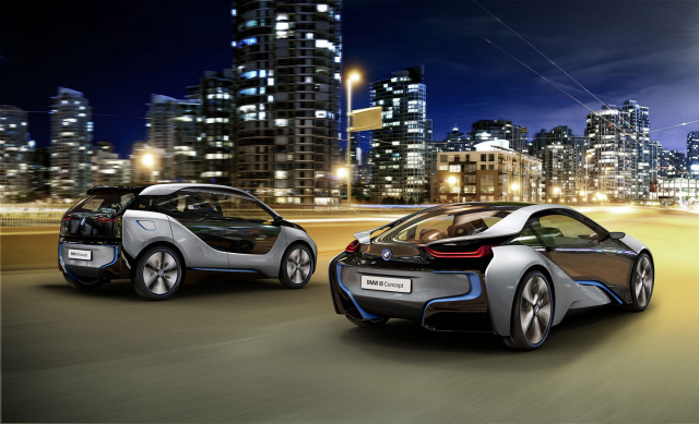 Bmw-i3-and-Bmw-i8-Photos