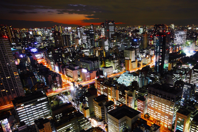 Night-view-Light-Tokyo-Japan