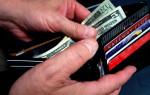 Opening-wallet