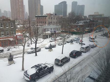 snowstorm-mta (出所:My Big Apple NY) 雪はまだ降り続けており、本