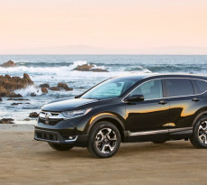 2017 Honda CR-V black